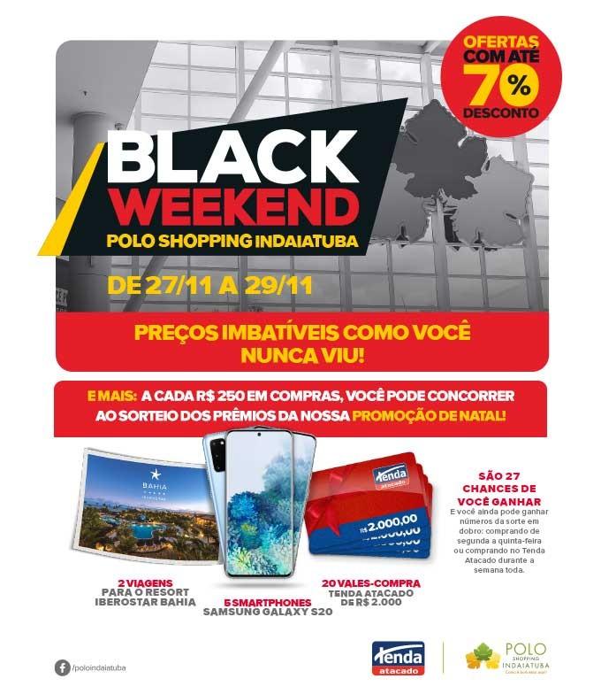 Black Weekend Polo Shopping Indaiatuba