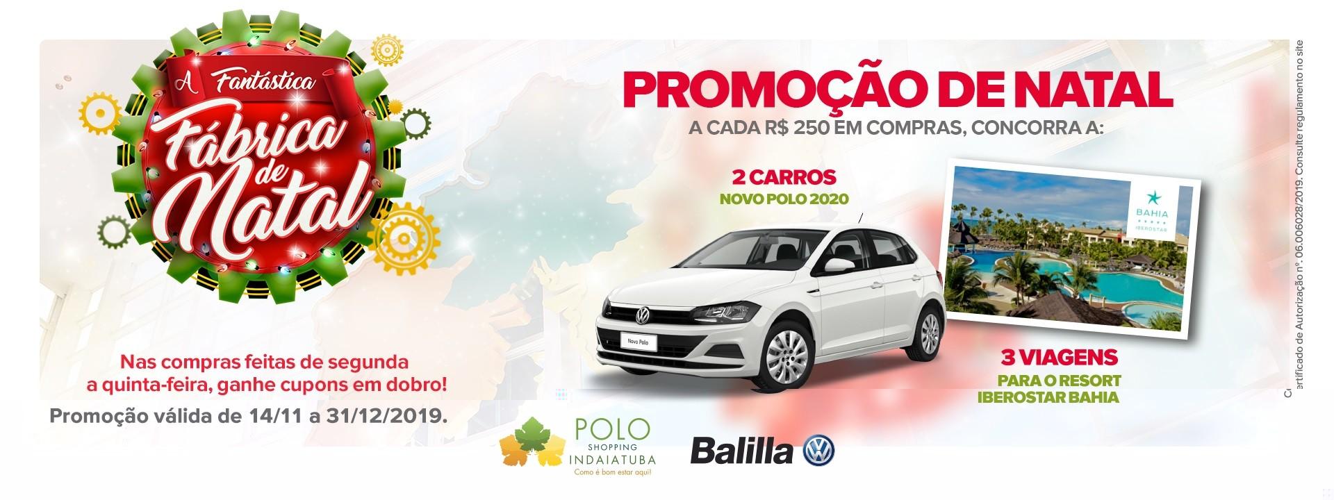 Promo de Natal Polo Shopping Indaiatuba