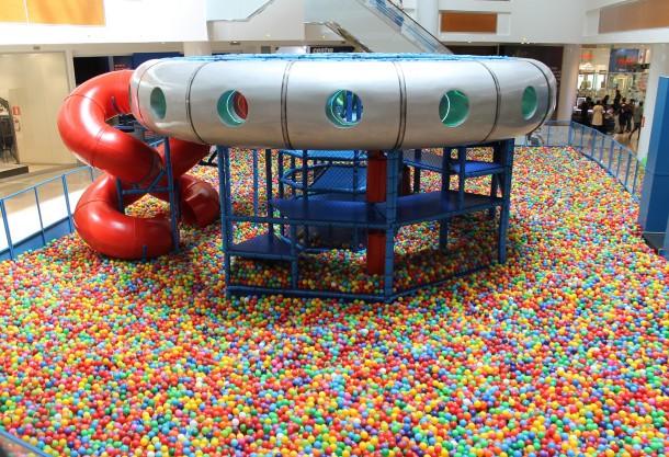 Space Ball Polo Shopping