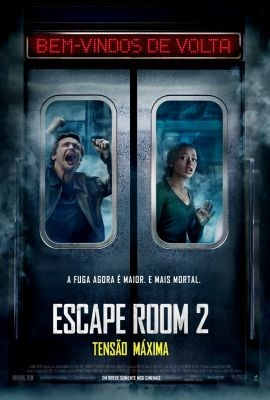 Escape Room 2 Tensao Maxima  Topazio Cinemas Polo Shopping Indaiatuba