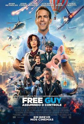 Free Guy Assumindo o Controle Topazio Cinemas Polo Shopping Indaiatuba