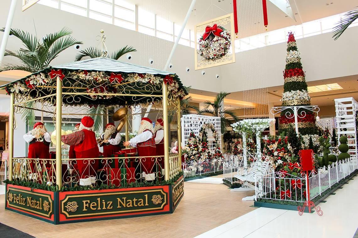 Jardim de Natal Polo Shopping Indaiatuba