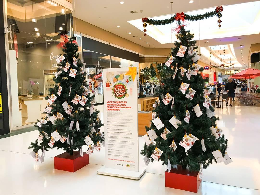 Natal Solidario Polo Shopping Indaiatuba