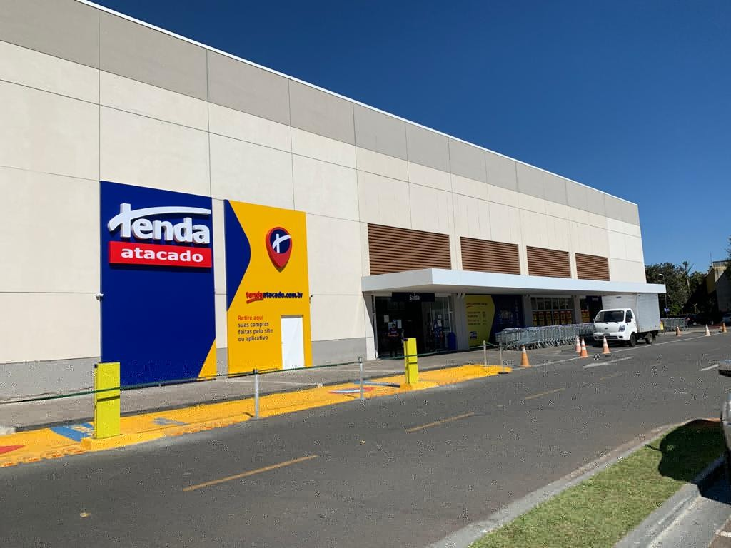 Polo Shopping Indaiatuba Tenda Atacado Mercado Supermercado Compras