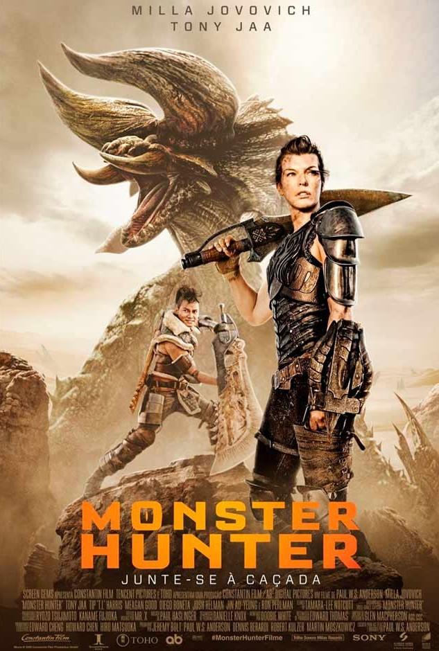 Polo Shopping Indaiatuba Topazio Cinema Filme Monster Hunter Junte-Se A Caçada